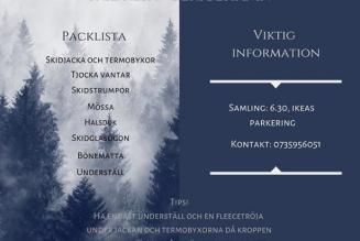 Skidresa med Bemuf Linköping!